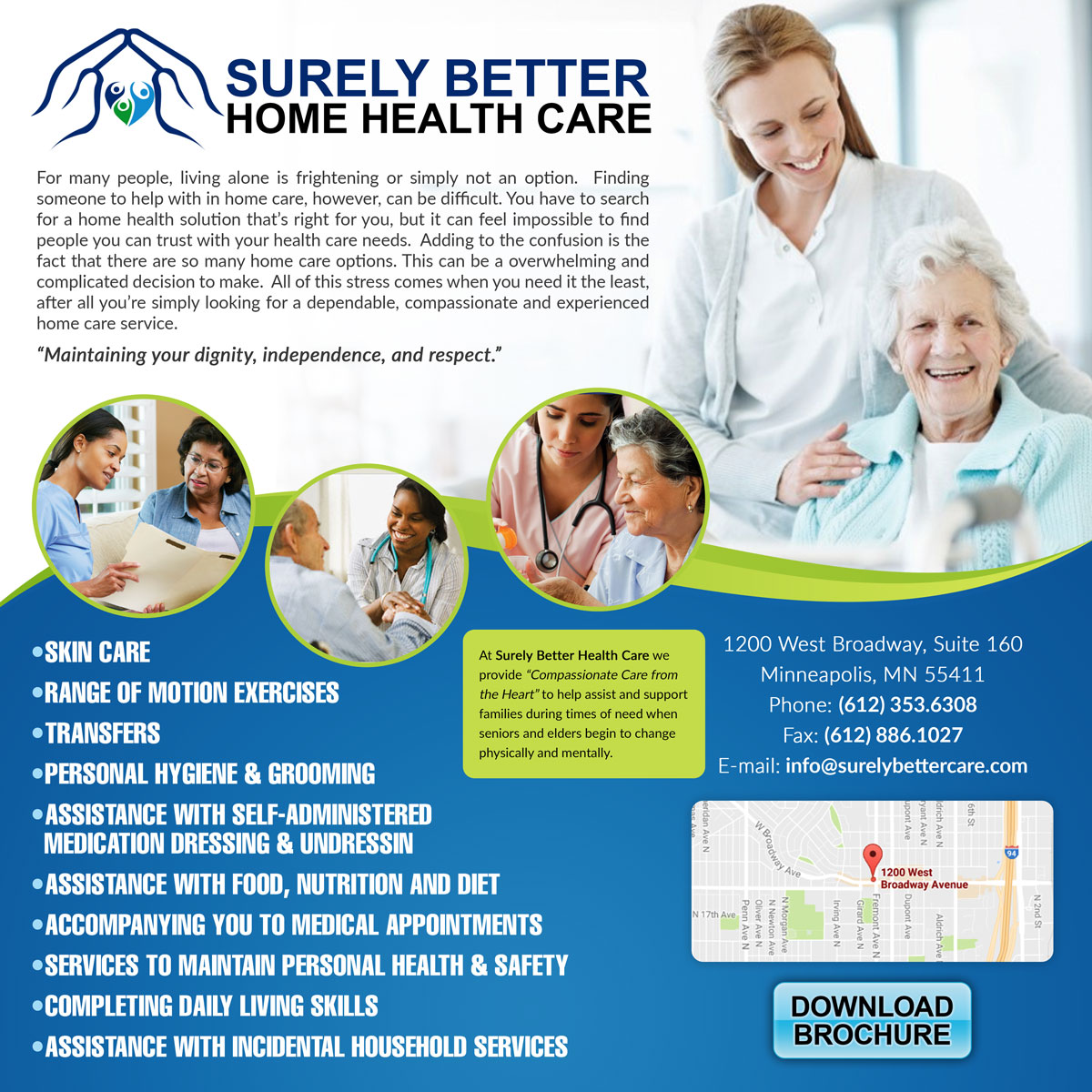 home health care flyers